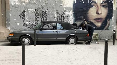 Voiture de collection « Saab 900 cabriolet »