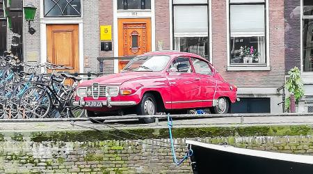 Voiture de collection « Saab 96 »
