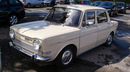 Voiture de collection « Simca 1000 GLS »