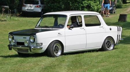 Voiture de collection « Simca 1000 Rallye 2 »