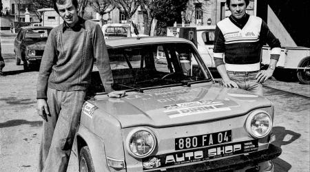 Voiture de collection « Simca 1000 Rallye II »