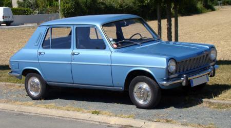 Voiture de collection « Simca 1100 GLS boite semi auto bleue Métal »