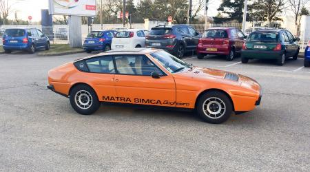 Voiture de collection « Matra-Simca Bagheera »