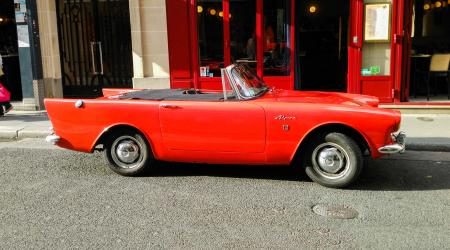 Voiture de collection « Sunbeam Alpine »