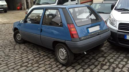 Voiture de collection « Renault Supercinq C »