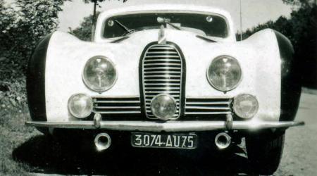 Talbot Lago Grand Sport vue de face