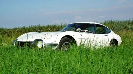 Voiture de collection « Toyota 2000 GT »