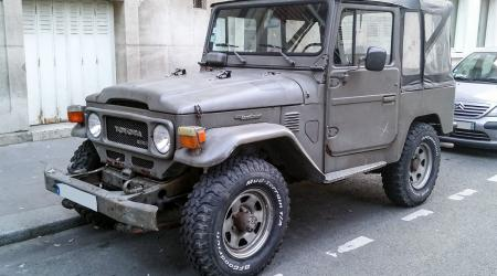 Voiture de collection « Toyota Land Cruiser »