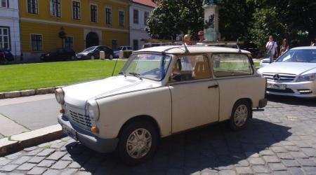 Voiture de collection « Combi Trabant 600 »