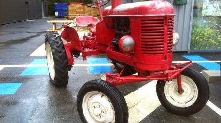 Un tracteur agricole !