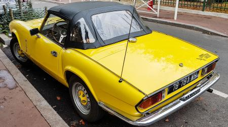 Voiture de collection « Triumph Spitfire 1500 »