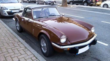 Voiture de collection « Triumph Spitfire »