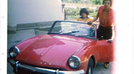 Voiture de collection « Triumph Spitfire Mk2 en 1975 »