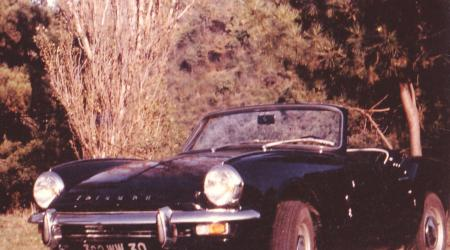 Voiture de collection « Triumph Spitfire MK3 1968 »