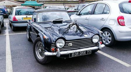 Voiture de collection « Triumph TR5 »