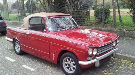 Voiture de collection « Triumph Vitesse »