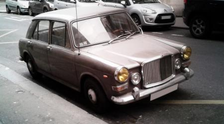 Voiture de collection « Vanden Plas »