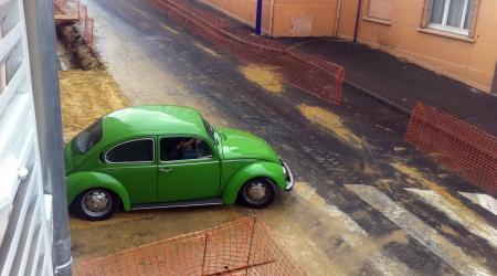 Volkswagen coccinelle Verte