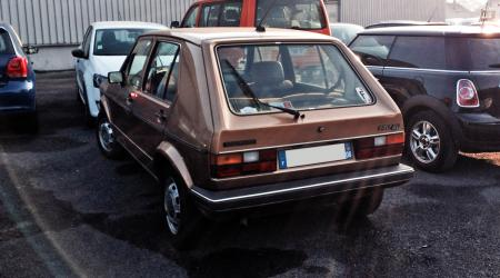 Voiture de collection « Volkswagen Golf GL »