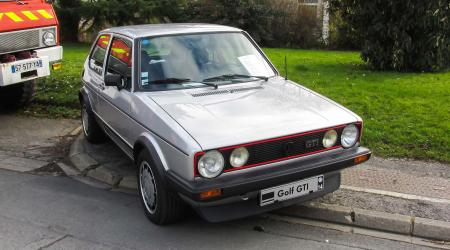 Voiture de collection « Volkswagen Golf GTI MK1 »