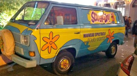 Voiture de collection « Volkwagen Tranporter Scooby Doo ! »