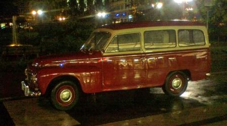 Voiture de collection « Volvo 210 Duett »
