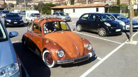 Voiture de collection « Volkswagen Coccinelle »