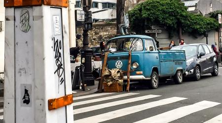 Voiture de collection « Volkswagen Combi T2B Pick-up »