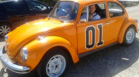 Voiture de collection « VW Cox 1303 Duke of Hazzard »