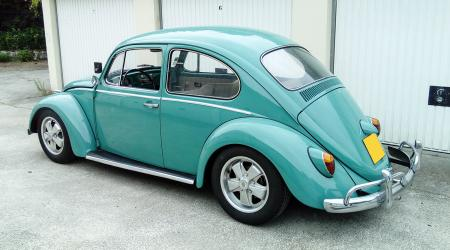 Voiture de collection « Volkswagen Coccinelle Fuchs »