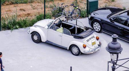 Voiture de collection « Volkswagen Coccinelle Cab »