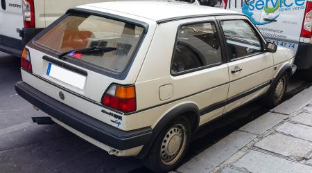 Voiture de collection « Golf II GTI Cip »