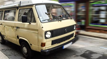 Voiture de collection « VW Transporter Westfalia »