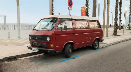 Voiture de collection « Volkswagen Transporter Westfalia »