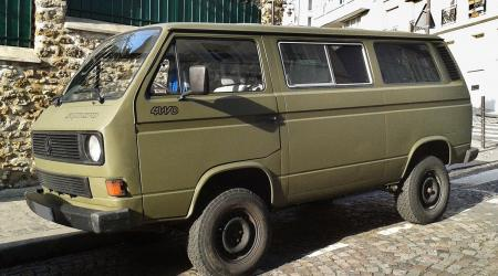 Voiture de collection « Volkswagen Transporter (T3) Syncro »