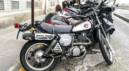 Voiture de collection « Yamaha 500 XT »