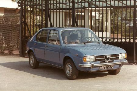 Voiture de collection « Alfa Roméo Alfasud »