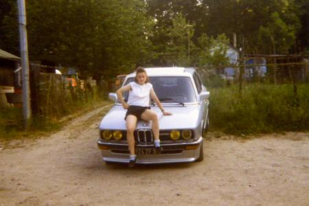 Voiture de collection « BMW 528i »