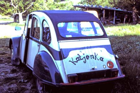 Voiture de collection « Citroën 2cv Babacool »