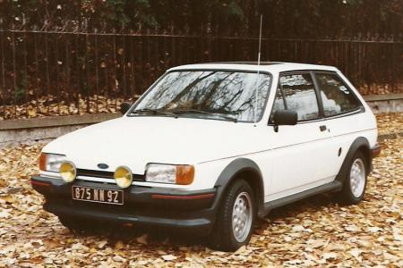 Voiture de collection « Ford Fiesta XR2i »