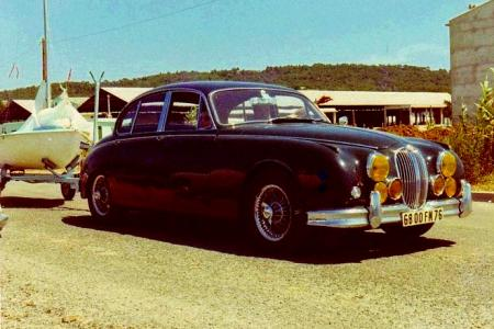 Voiture de collection « Jaguar MKII 3,8l »