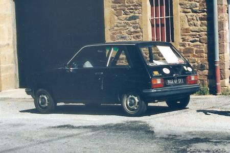 Voiture de collection « Peugeot 104 Z »