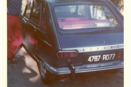 Voiture de collection « Renault 16