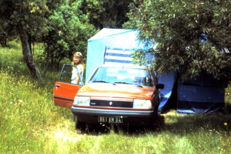 Voiture de collection « Renault 18 GTD 1983 »