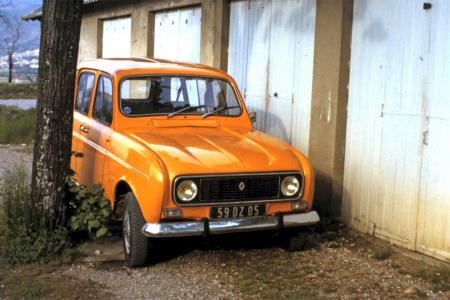 Voiture de collection « Renault 4 TL 1979 »