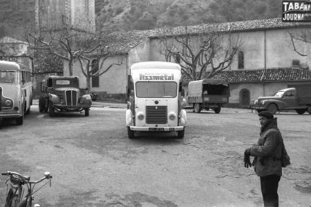 Voiture de collection « Renault Goélette • Une place en 1960 »