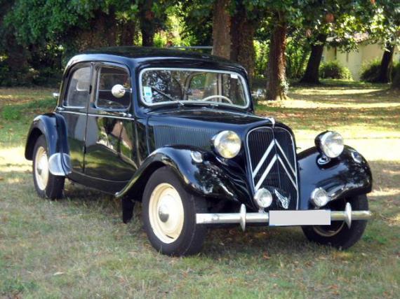 citro u00ebn traction 11 bl 1954  une voiture de collection