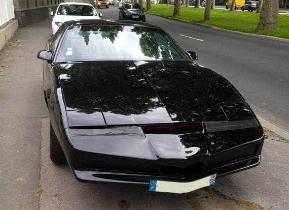 pontiac trans am firebird k2000 kitt une voiture de collection propos e par f lix l. Black Bedroom Furniture Sets. Home Design Ideas
