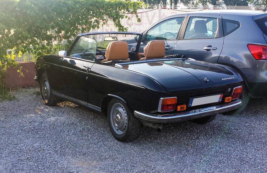 peugeot 304 cabriolet une voiture de collection propos e par nicolas t. Black Bedroom Furniture Sets. Home Design Ideas