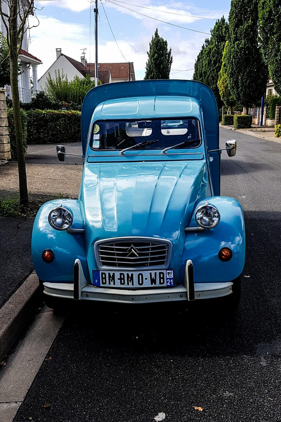 citro u00ebn 2cv fourgonnette  une voiture de collection